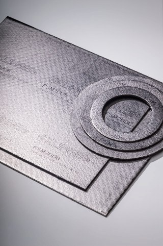 FLEXIBLE GRAPHITE LAMINATE GASKET MATERIALS